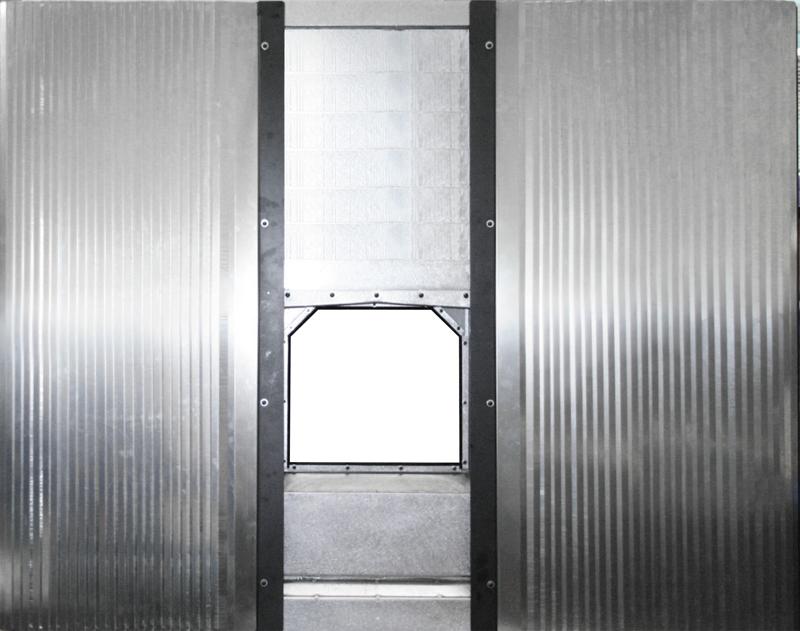 バリア・テレスコ式XY複合パネル